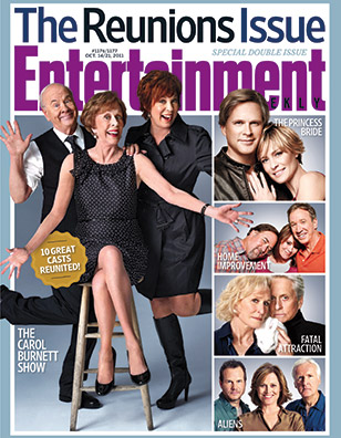 The Carol Burnett Show grace the cover of Entertainment Weekly